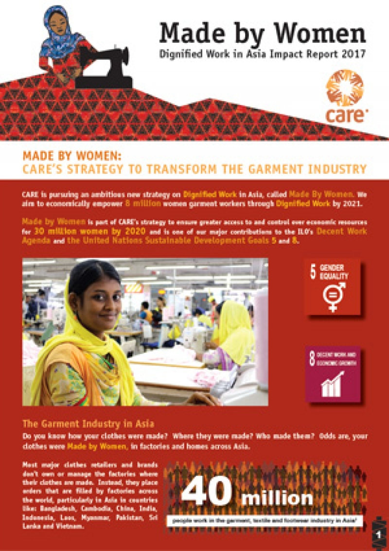 Made by Women: Dignified Work in Asia Impact Report 2017