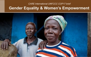 Gender Equality & Women's Empowerment