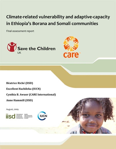 Climate-related vulnerability and adaptive capacity in Ethiopia's Borana and Somali communities