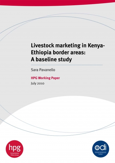 Livestock marketing in Kenya - Ethiopia border areas: A baseline study