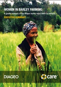 Women in barley farming: A gender analysis of the Diageo barley value chain in Ethiopia - Executive Summary