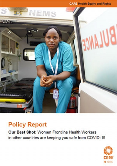Our Best Shot: Women frontline health workers in other countries are keeping you safe from COVID-19
