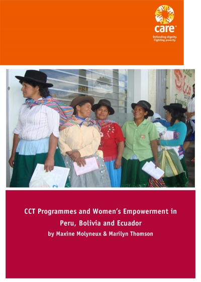 CCT Programmes and Women's Empowerment in Peru, Bolivia and Ecuador