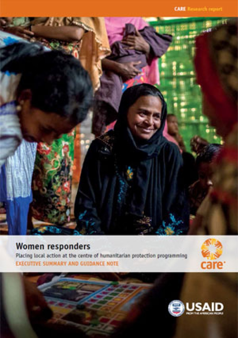 Women responders: Executive summary and guidance note