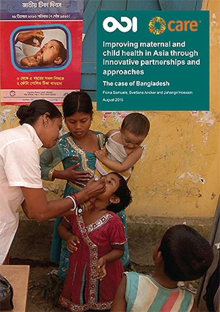 Improving maternal and child health in Asia through innovative partnerships and approaches: The case of Bangladesh