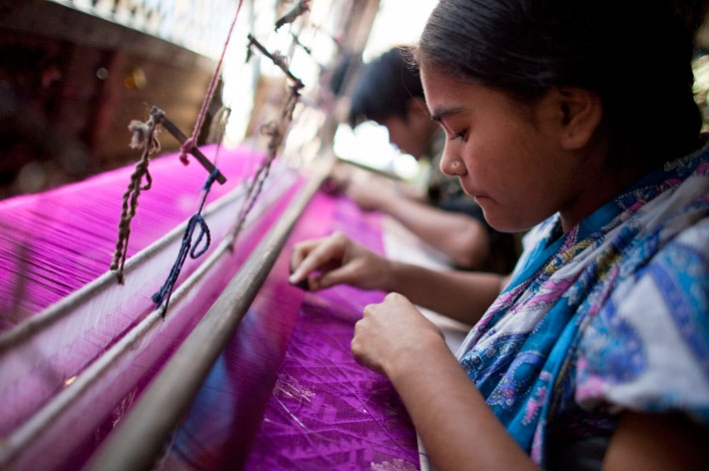Women working in the garment industry in Bangladesh. © CARE/Josh Estey
