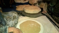 Bread making in Syria
