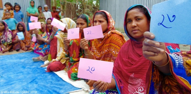 Holding those in power to account: A community meeting in Bangladesh