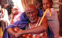 People at a camp for internally displaced people in Puntland (photo taken September 2011)