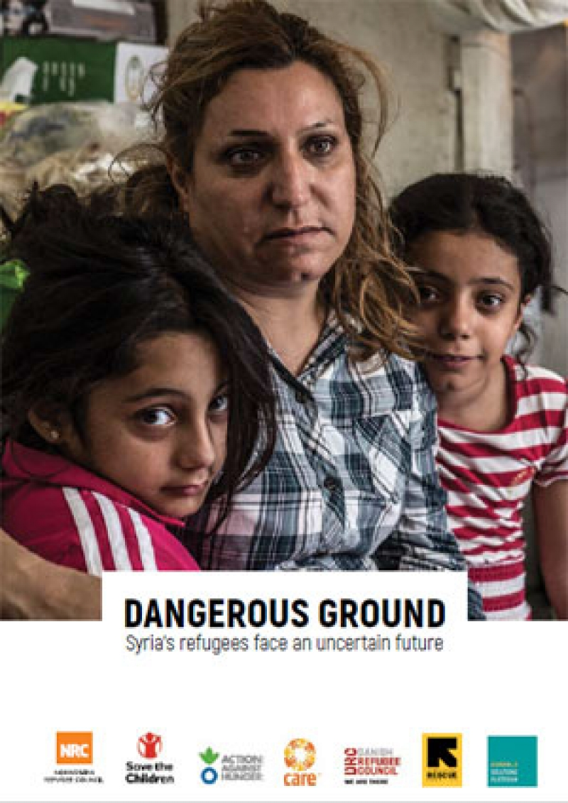 Dangerous ground: Syrian refugees face an uncertain future