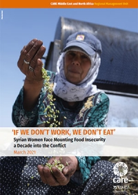 'If we don't work, we don't eat': Syrian women face mounting food insecurity a decade into the conflict