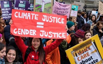Four steps that UK must take to put women's leadership and gender justice at the heart of their COP26 Presidency