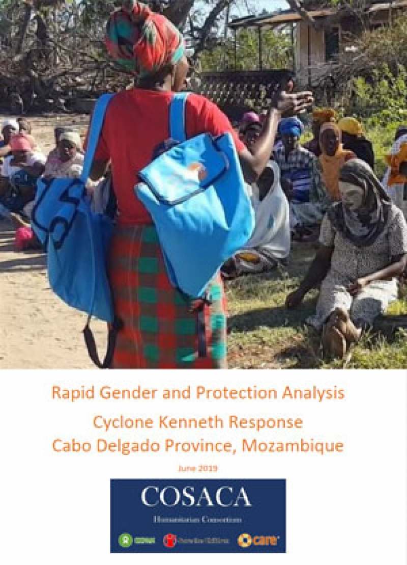 Rapid gender and protection analysis: Cyclone Kenneth response, Cabo Delgado Province, Mozambique