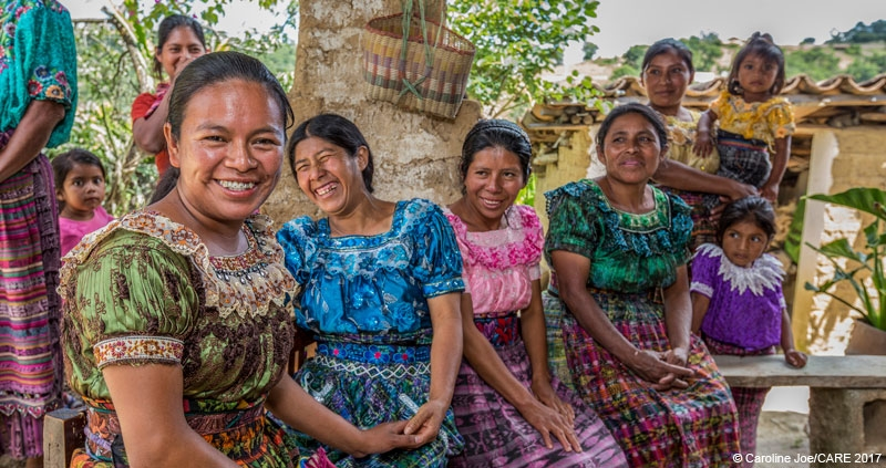Members of a Village Savings and Loan Association in Guatemala