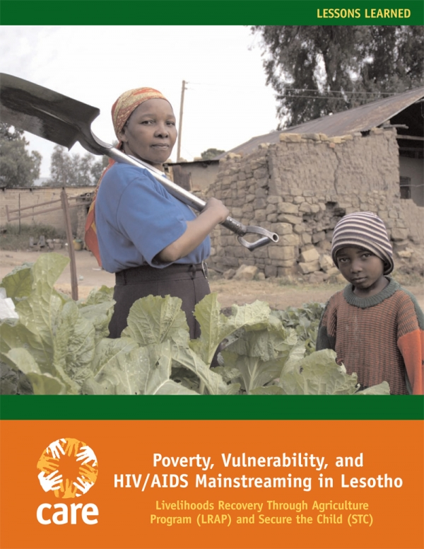 Poverty, vulnerability, and HIV and AIDS mainstreaming in Lesotho
