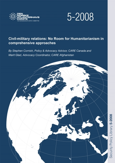 Civil-military relations: No Room for Humanitarianism in comprehensive approaches