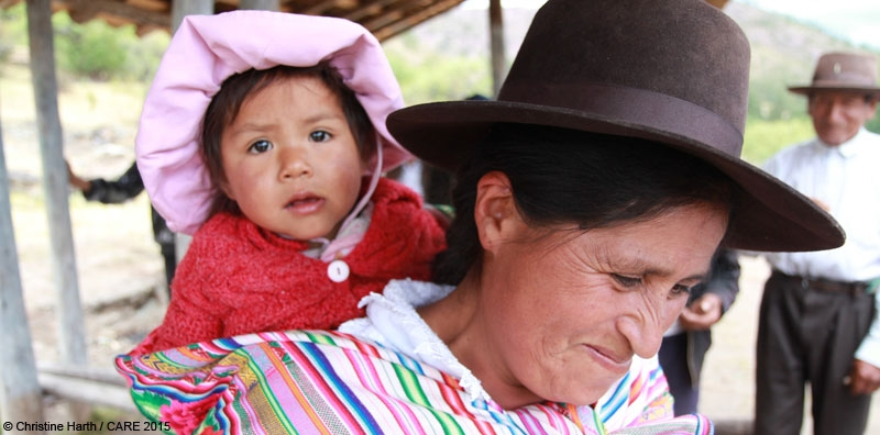 CARE's advocacy work in Peru contributed to a reduction in stunting in children under 5