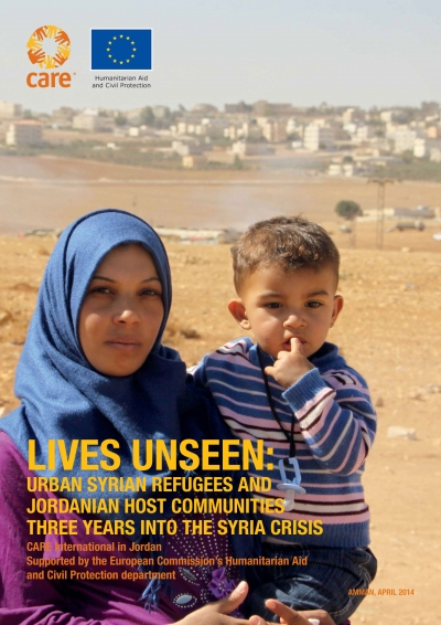Lives Unseen: urban Syrian refugees and Jordanian host communities three years into the Syria crisis