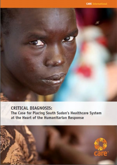 Critical diagnosis: The case for placing South Sudan's healthcare system at the heart of the humanitarian response