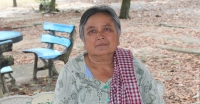 Oeun has seen improvements at her local health centre in Koh Kong province, Cambodia
