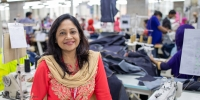 Jannatun, General Manager of HR & Compliance at a factory in Bangladesh, wants to get more women into leadership roles