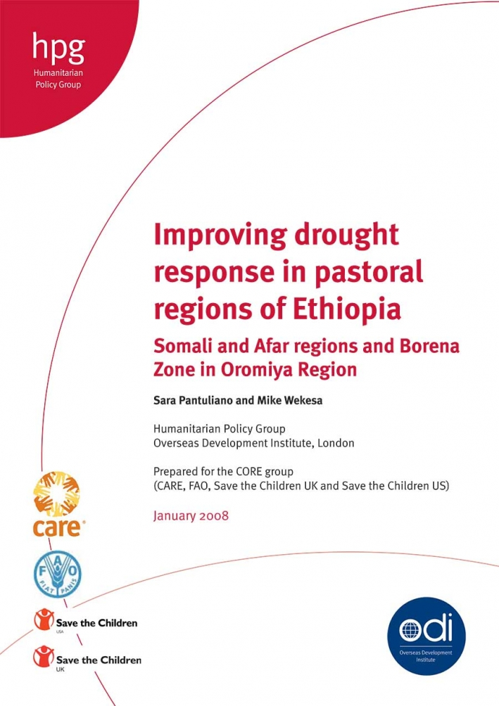 Improving drought response in pastoral regions of Ethiopia Somali and Afar regions and Borena Zone in Oromiya Region