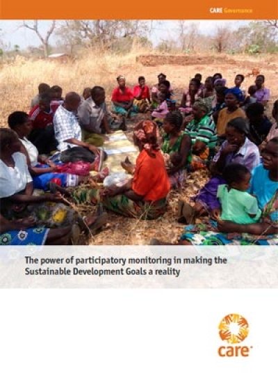 The power of participatory monitoring in making the Sustainable Development Goals a reality