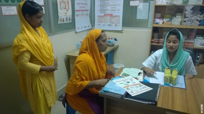 Skilled birth attendants like Salma are trained in maternal and child care and managing home deliveries in rural regions such as Sunamganj in Bangladesh