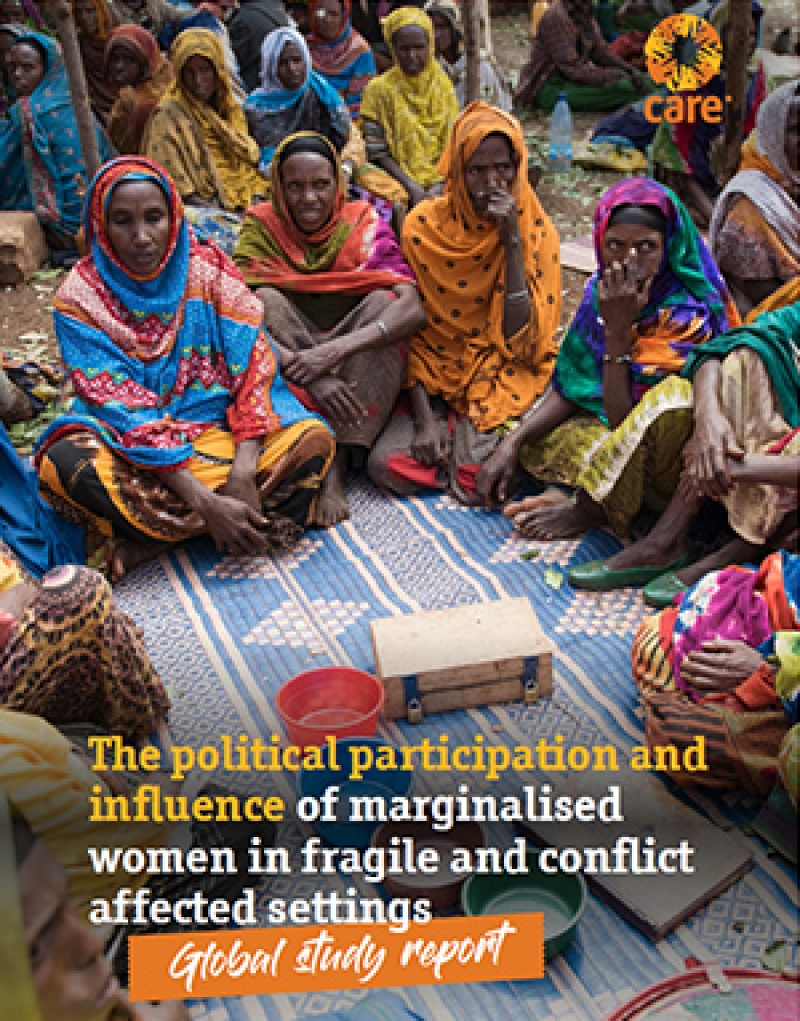 The political participation and influence of marginalised women in fragile and conflict affected settings - Global study report