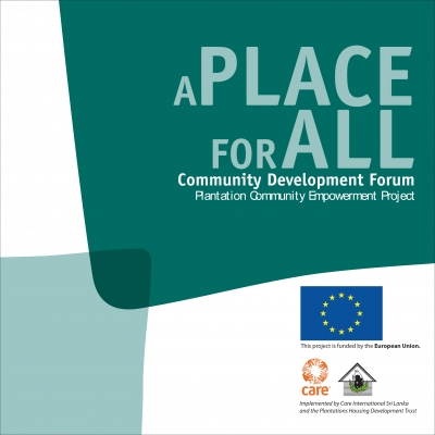 A Place for All: Community Development Forums