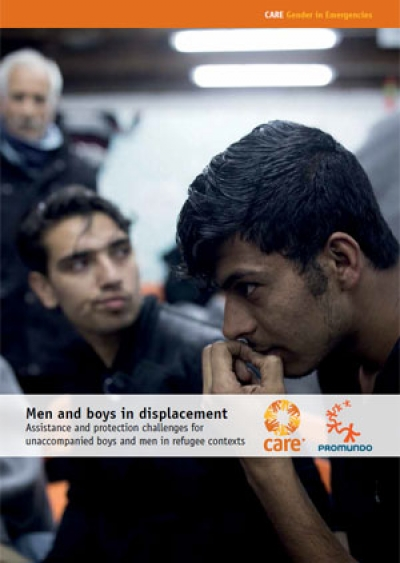 Men and boys in displacement: Assistance and protection challenges for unaccompanied boys and men in refugee contexts