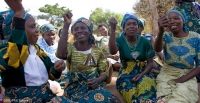 A village savings and loan association meeting in Kaundama community, Malawi