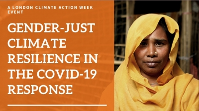 Webinar: Gender-just climate resilience in the COVID-19 response