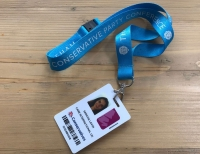 Policy and Advocacy Intern, Sascha's party conference pass