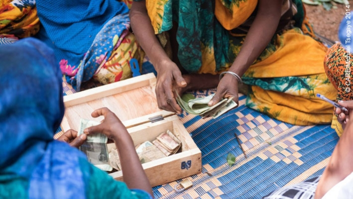 A CARE-supported savings group in East Hararghe, Ethiopia
