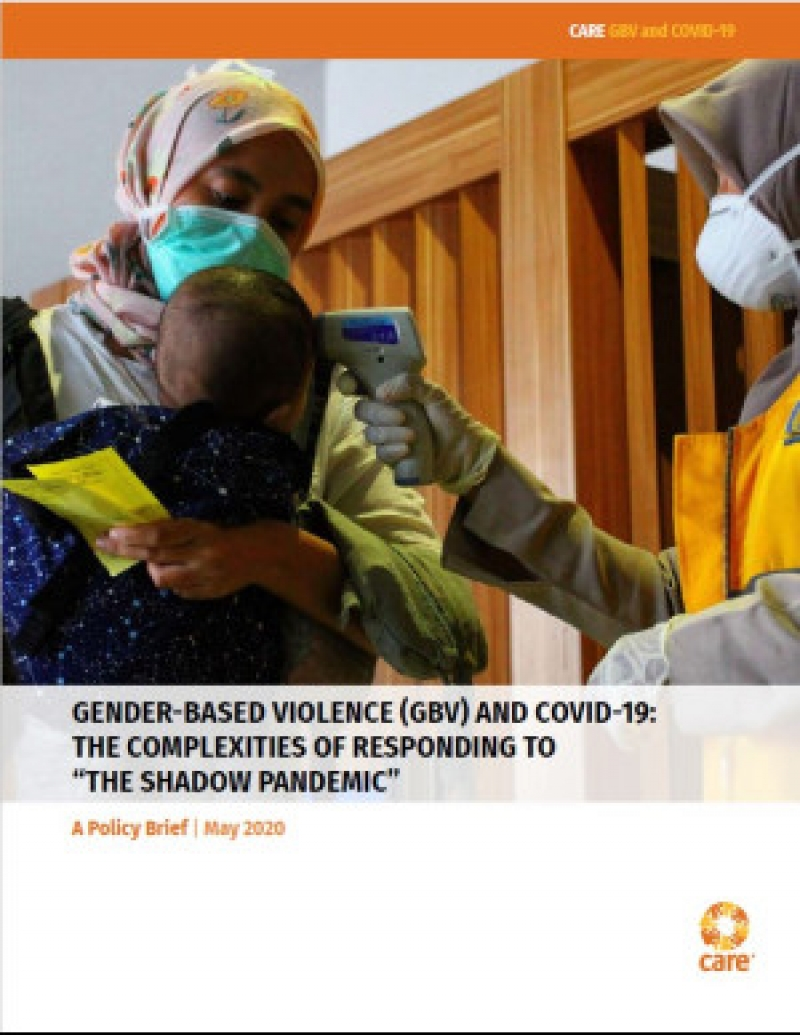 Gender-based violence and COVID-19: The complexities of responding to 'the shadow pandemic'