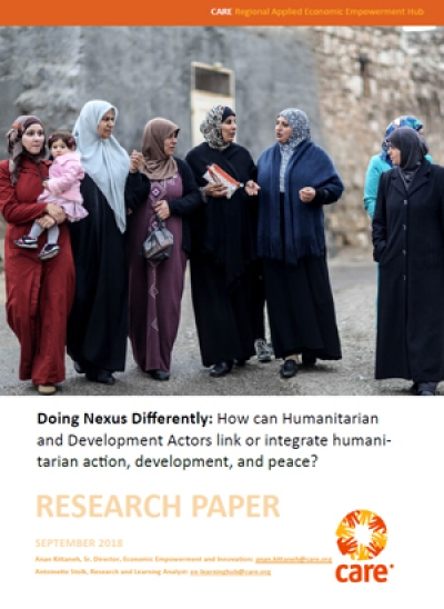 Doing Nexus Differently: How can Humanitarian and Development Actors link or integrate humanitarian action, development, and peace?
