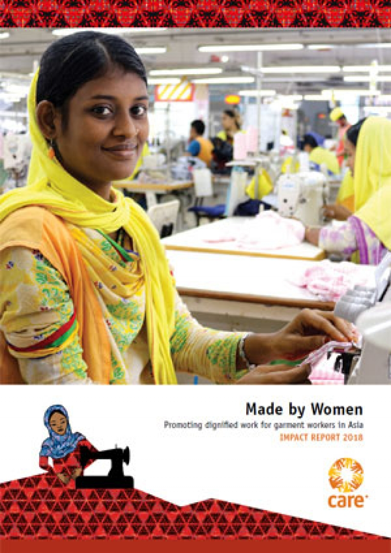 Made by Women 2018 Impact Report: Promoting dignified work for garment workers in Asia