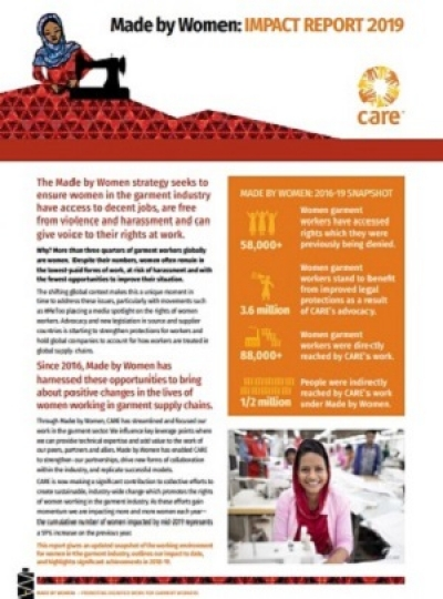 Made by Women: Impact Report 2019