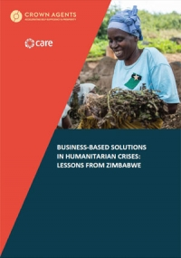 Business-based solutions in humanitarian crises: Lessons from Zimbabwe