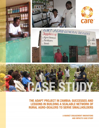 ADAPT Project: Market engagement case study: