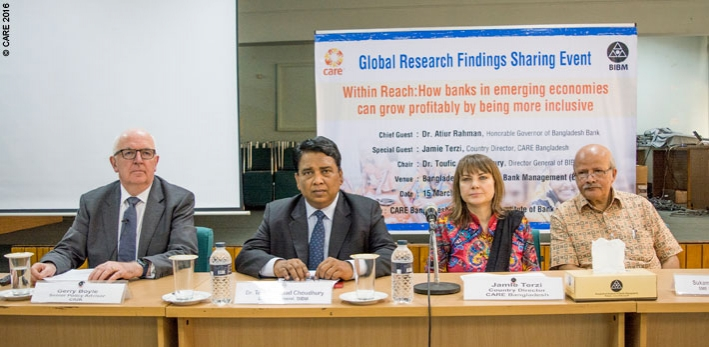 The panel at the Within Reach meeting in Bangladesh