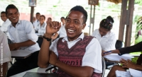 Students at a Youth Vocational Training Centre in Dili, Timor-Leste