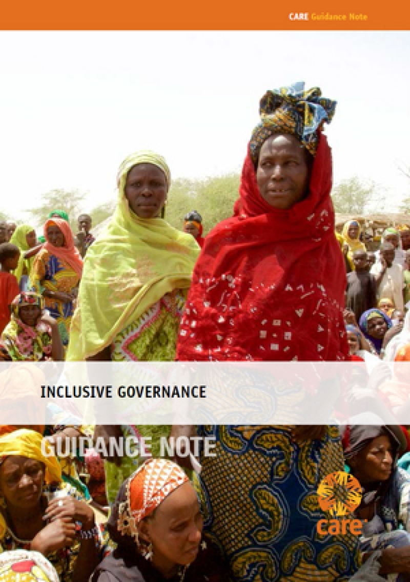Inclusive Governance Guidance Note