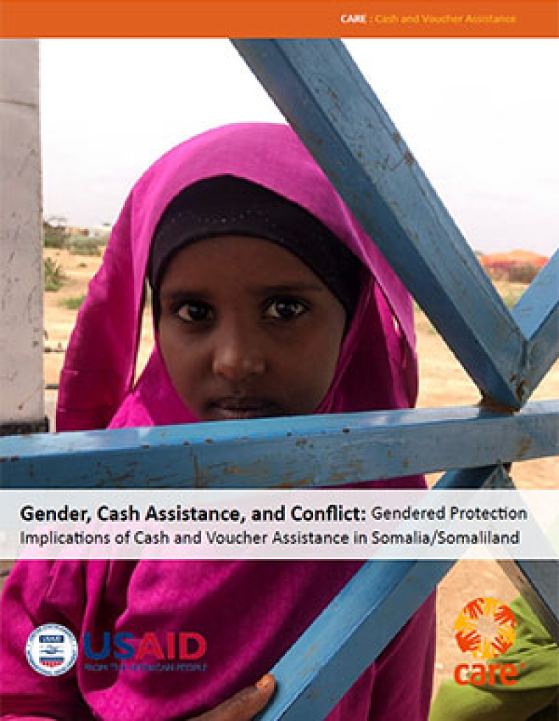 Gender, cash assistance, and conflict: Gendered protection implications of cash and voucher assistance in Somalia/Somaliland
