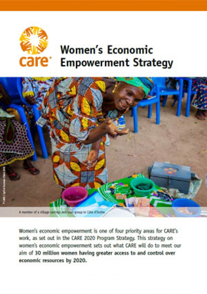 CARE's Women's Economic Empowerment Strategy