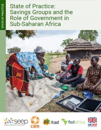 State of practice: Savings groups and the role of government in sub-Saharan Africa