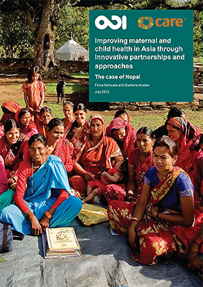 Improving maternal and child health in Asia through innovative partnerships and approaches: The case of Nepal