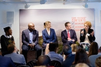 Global Goals panel discussion hosted by CARE International UK during its 70 year anniversary week
