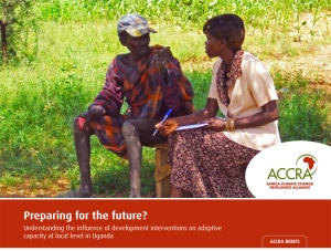 Preparing for the future? Understanding the influence of development interventions on adaptive capacity at local level in Uganda